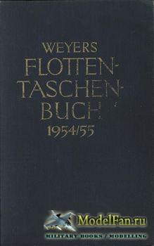 Weyers Flottentaschenbuch 1954/1955 (Bruno Weyer)