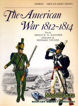 Osprey - Men-at-Arms 36 - The American War 1812-1814