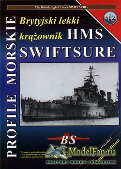 Profile Morskie 42 - British Light Cruiser HMS Swiftsure