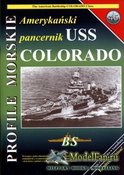 Profile Morskie 45 - Amerykanski Pancernik Uss Colorado