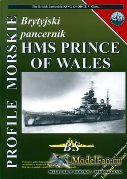 Profile Morskie 49 - Brytyjski Pancernik Prince of Wales