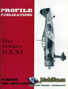 Profile Publications - Aircraft Profile №63 - The Fokker D.XXI