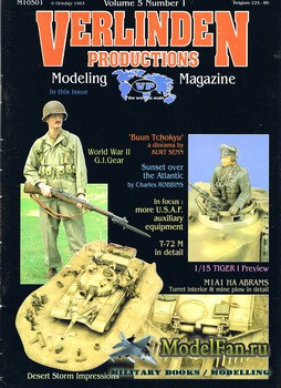 Verlinden Publications - Modeling Magazine (Volume 5 Number 1)
