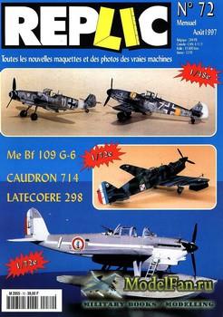 Replic №72 (1997) - Me-109G-6, Caudron 714, Latecoere 298