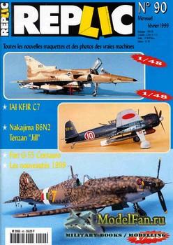 Replic №90 (1999) - Kfir C7, Nakajima B6N2, FIAT G-55