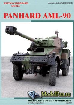 Ervins Cardboard Model - Panhard AML 90