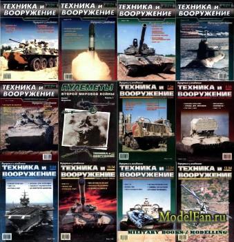 Техника и вооружение №1-12 2004