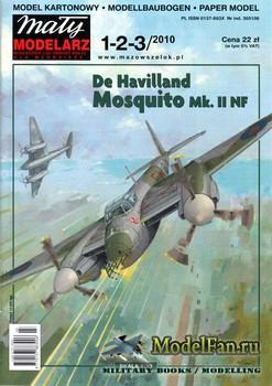 Maly Modelarz №1-2-3 (2010) - De Havilland Mosquito Mk. II NF