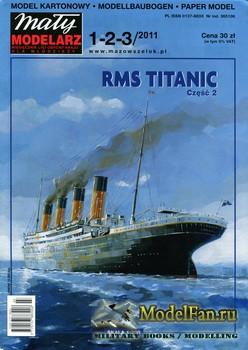 Maly Modelarz №1-2-3 (2011) - RMS Titanic (Part 2)