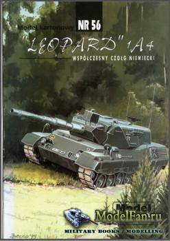 ModelCard №56 - Leopard 1A4