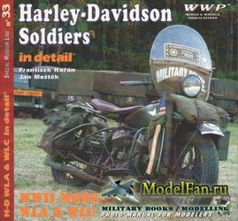 WWP Special Museum Line №33 - Harley-Davidson Soldiers in Detail