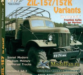ZiL-157/157K Variants in detail (Frantisek Koran; Jan Martinec)