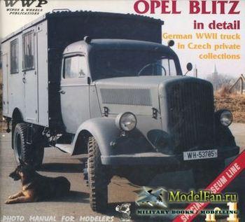 Opel Blitz in detail (Jan Mostek; Frantisek Koran)