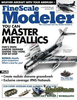 FineScale Modeler Vol.30 №1 (January) 2012