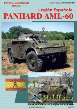 Ervins Cardboard Model - Panhard AML 60