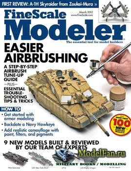 FineScale Modeler Vol.30 №3 (March) 2012