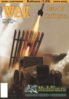 WAK 7-8/2013 - BM-13 Katiusza