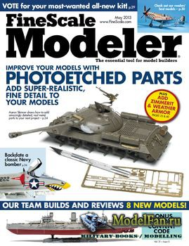 FineScale Modeler Vol.31 №5 (May) 2013