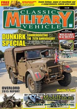 Classic Military Vehicles №171 (August 2015)