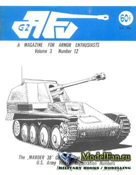 AFV-G2: A Magazine For Armor Enthusiasts Vol.3 No.12