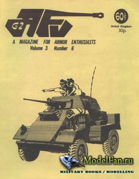 AFV-G2: A Magazine For Armor Enthusiasts Vol.3 No.6