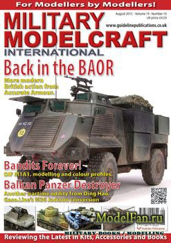 Military Modelcraft International (August 2015) Vol.19 №10