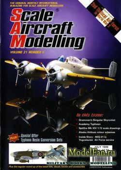 Scale Aircraft Modelling (July 1999) Vol.21 №5