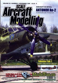 Scale Aircraft Modelling (November 1998) Vol.20 №9