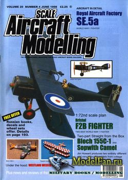 Scale Aircraft Modelling (June 1998) Vol.20 №4