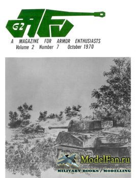 AFV-G2: A Magazine For Armor Enthusiasts Vol.2 No.7