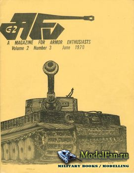 AFV-G2: A Magazine For Armor Enthusiasts Vol.2 No.3