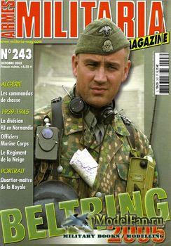 Armes Militaria Magazine №243 2005