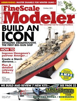 FineScale Modeler Vol.33 №8 (October) 2015