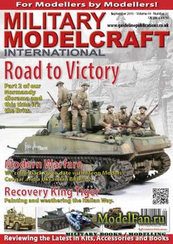 Military Modelcraft International (September 2015) Vol.19 №11