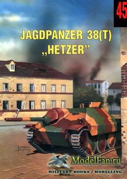 Wydawnictwo Militaria №45 - Jagdpanzer 38(t)