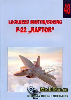 Wydawnictwo Militaria №48 - Lockheed Martin/Boeing F-22