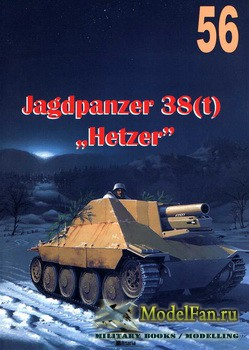 Wydawnictwo Militaria №56 - Jagdpanzer 38(t)