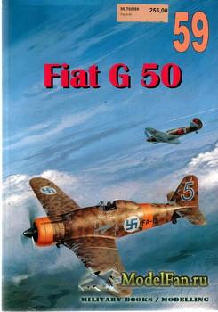 Wydawnictwo Militaria №59 - Fiat G 50