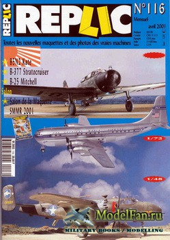 Replic №116 (2001) - B5N2 Kate, B-377 Stratocruiser, B-25 Mitchell