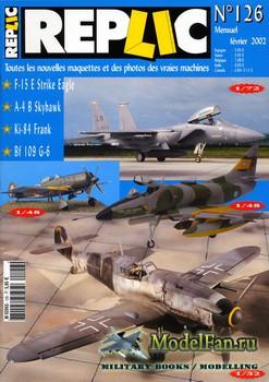 Replic №126 (2002) - F-15 Eagle, A-4 Skyhawk, Ki-84, Me-109 G