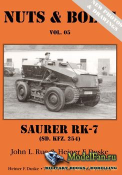 Nuts & Bolts (Vol. 05) - Saurer RK-7 (Sd.Kfz 254) (Expanded Edition)