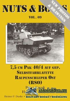 Nuts & Bolts (Vol. 09) - 7.5 cm PAK 40/4 Auf Gep. (Expanded Edition)