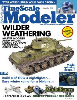 FineScale Modeler Vol.33 №10 (December) 2015