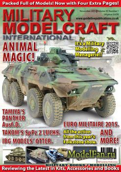 Military Modelcraft International (November 2015) Vol.20 №1
