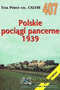 Wydawnictwo Militaria №407 - Polskie Pociagi Pancerne 1939