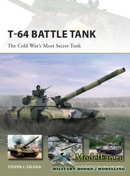 Osprey - New Vanguard 223 - T-64 Battle Tank
