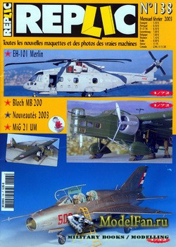 Replic №138 (2003) - EH-101 Merlin, MB-200, MiG-21UM, Technic - Panels