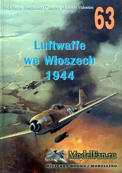 Wydawnictwo Militaria №63 - Luftwaffe we Wloszech 1944