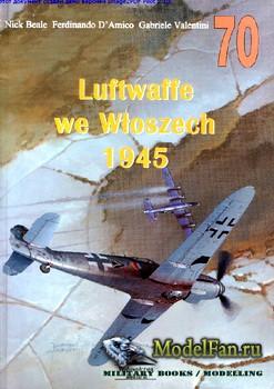 Wydawnictwo Militaria №70 - Luftwaffe we Wloszech 1945