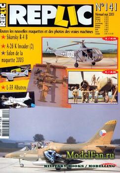 Replic №141 (2003) - Sikorsky R-4, A-26K Invader